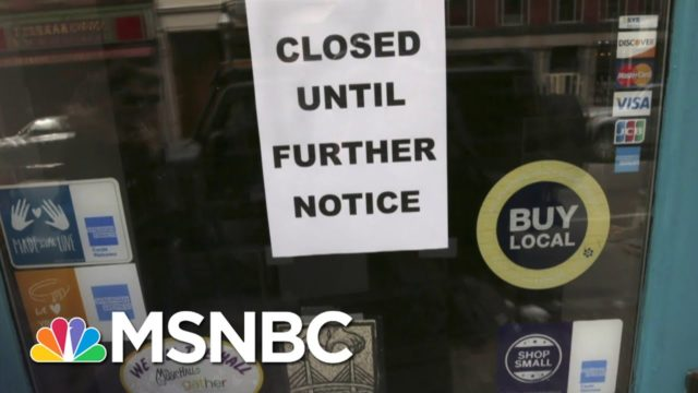 Fmr. Labor Dept. Economist: 3.3M Jobless Claims 'A Drop In The Bucket'   The Last Word   MSNBC
