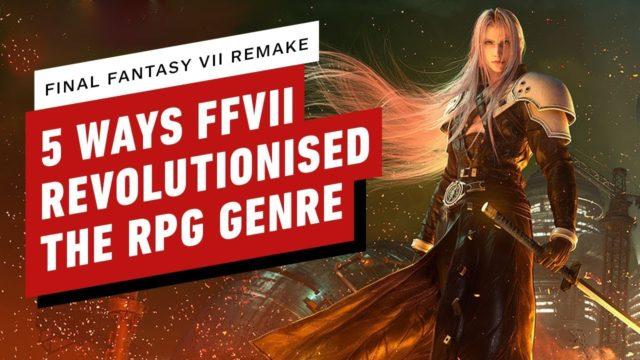 5 Ways Final Fantasy 7 Revolutionised the RPG Genre