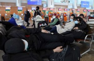 Americans stuck as last flight out of Russia stopped on tarmac as coronavirus lockdown extended