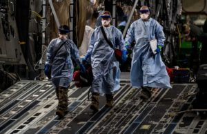 Air Force evacuates 3 government contractors with coronavirus from Afghanistan