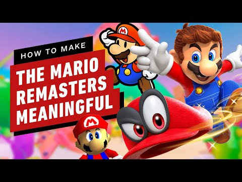 How to Make the Mario Remasters Meaningful