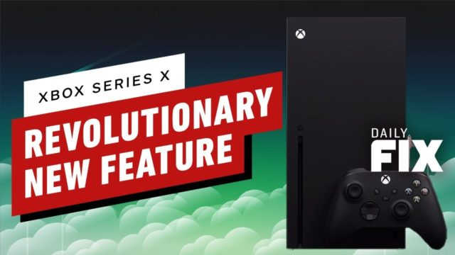 Xbox Series X's Dynamic Latency Input Is a Revolutionary New Feature