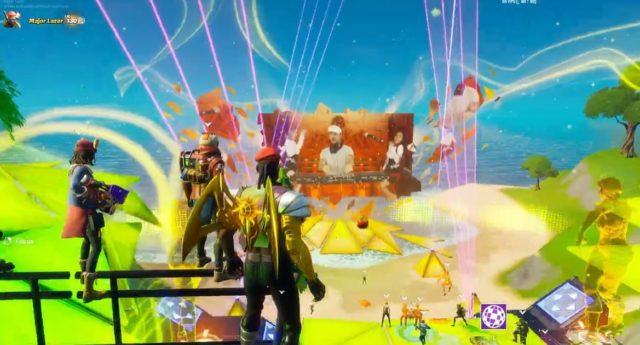 Diplo hosts live Major Lazer set in Fortnite's Party Royale mode