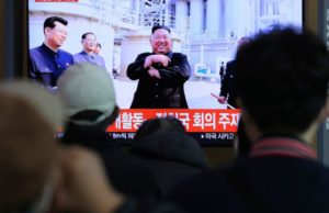 Kim reappears in public, ending absence amid health rumors
