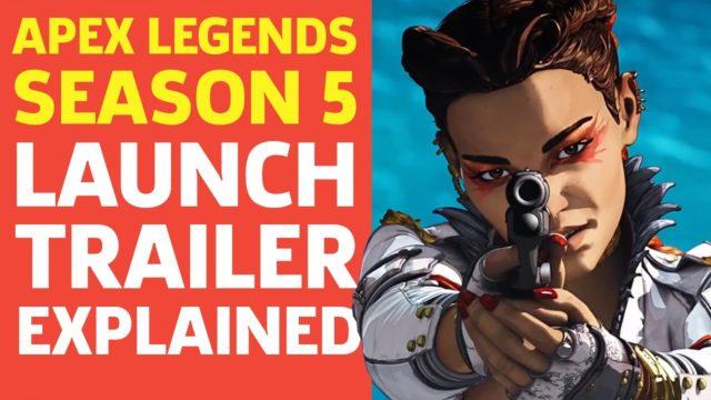 Apex Legends Season 5 Loba Launch Trailer, Explained
