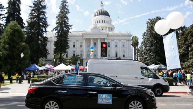 California sues Uber, Lyft over alleged labor law violations