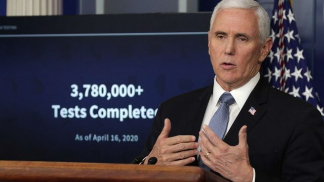 Mike Pence: Test all nursing home residents, staff
