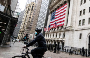 Stock market live updates: Dow futures down 200, record retail sales plunge, China tensions