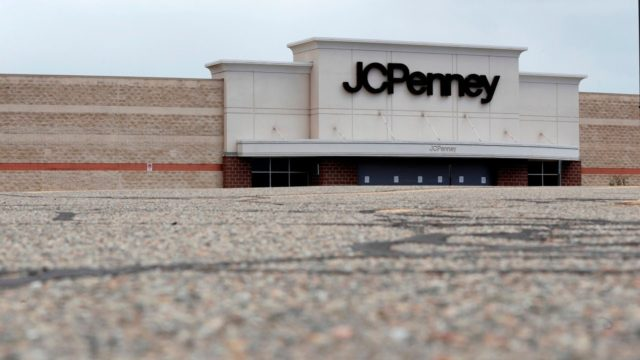 JCPenney department store files for bankruptcy