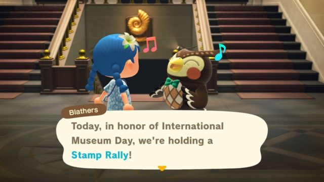 Reminder: Animal Crossing: New Horizons' Museum Day Stamp Rally Event Starts Today
