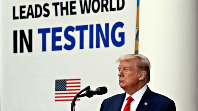 Trump lashes out at scientists whose findings contradict him