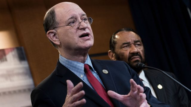 'It's time for China to blink first,' says Rep. Sherman, who leads the drive to delist China stocks