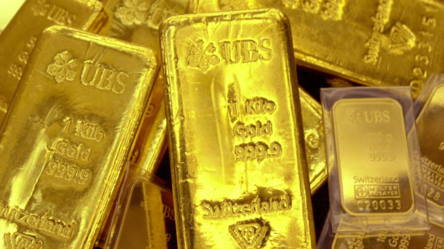 Gold ends lower as stock market rallies on lockdowns easing, vaccine hopes