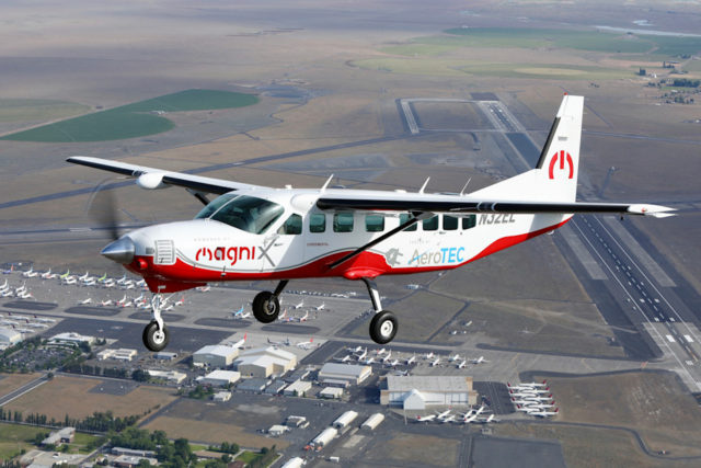 Modified Cessna is the 'largest' electric aircraft to take flight