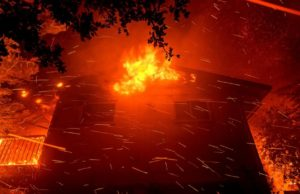 Smoky fire prompts evacuations in rural Northern California