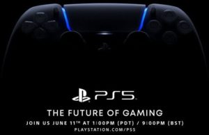 Sony's PS5 event rescheduled to June 11th