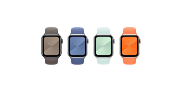 Apple debuts new Apple Watch Sport Bands and silicone iPhone cases for summer
