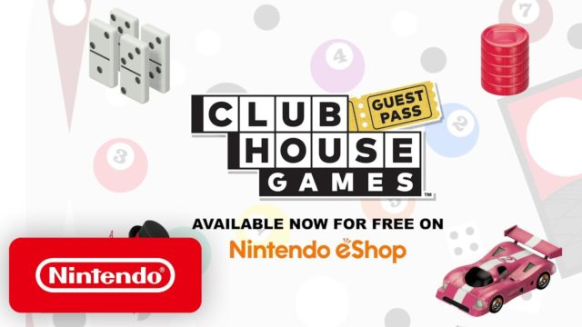 Clubhouse Games Guest Pass