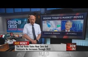 Jim Cramer: This market is defined by Johnson & Johnson and Jay Powell