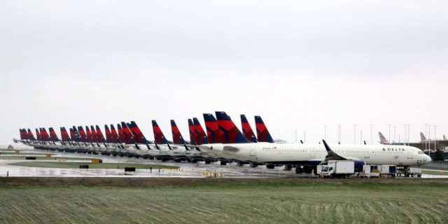 Delta Stock Could Be Grounded by Debt
