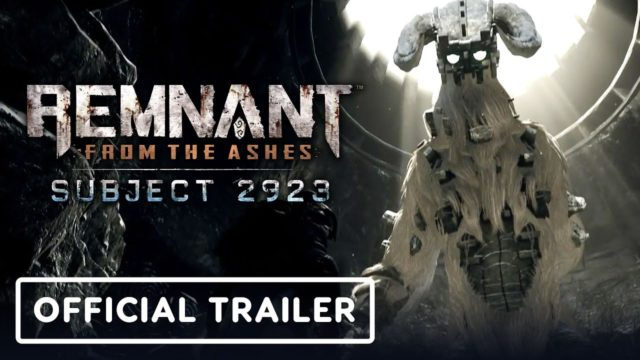 Remnant: From the Ashes Subject 2923