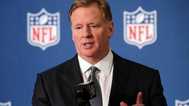 NFL commissioner Goodell encourages team to sign Kaepernick