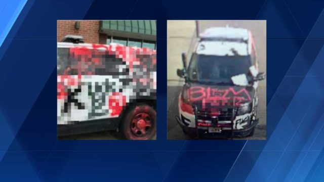 'Destroying progress and dialogue': DSM PD responds to vandalism in past 24 hours