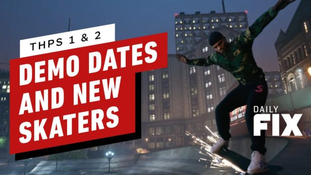 Tony Hawk's Pro Skater 1 and 2 Gets New Skaters and Warehouse Demo