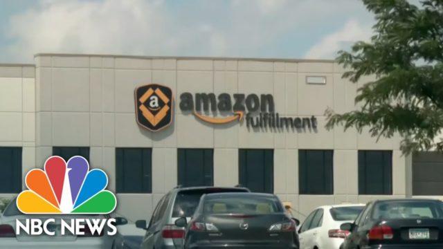 Nearly 100 Workers Test Positive For Coronavirus At Minnesota Amazon Warehouse | NBC Nightly News