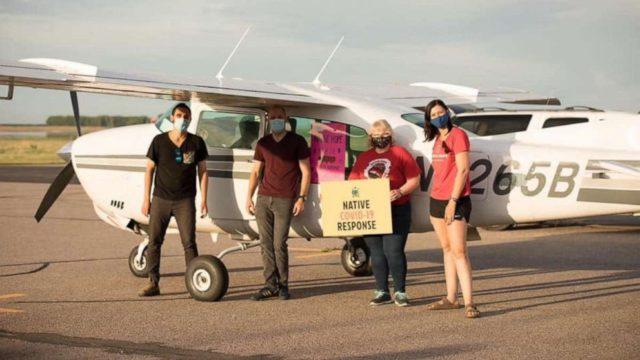 'Angel' volunteer pilots help families across U.S. during pandemic