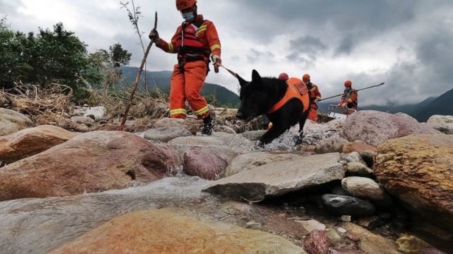 At least 12 killed in flooding in southwestern China