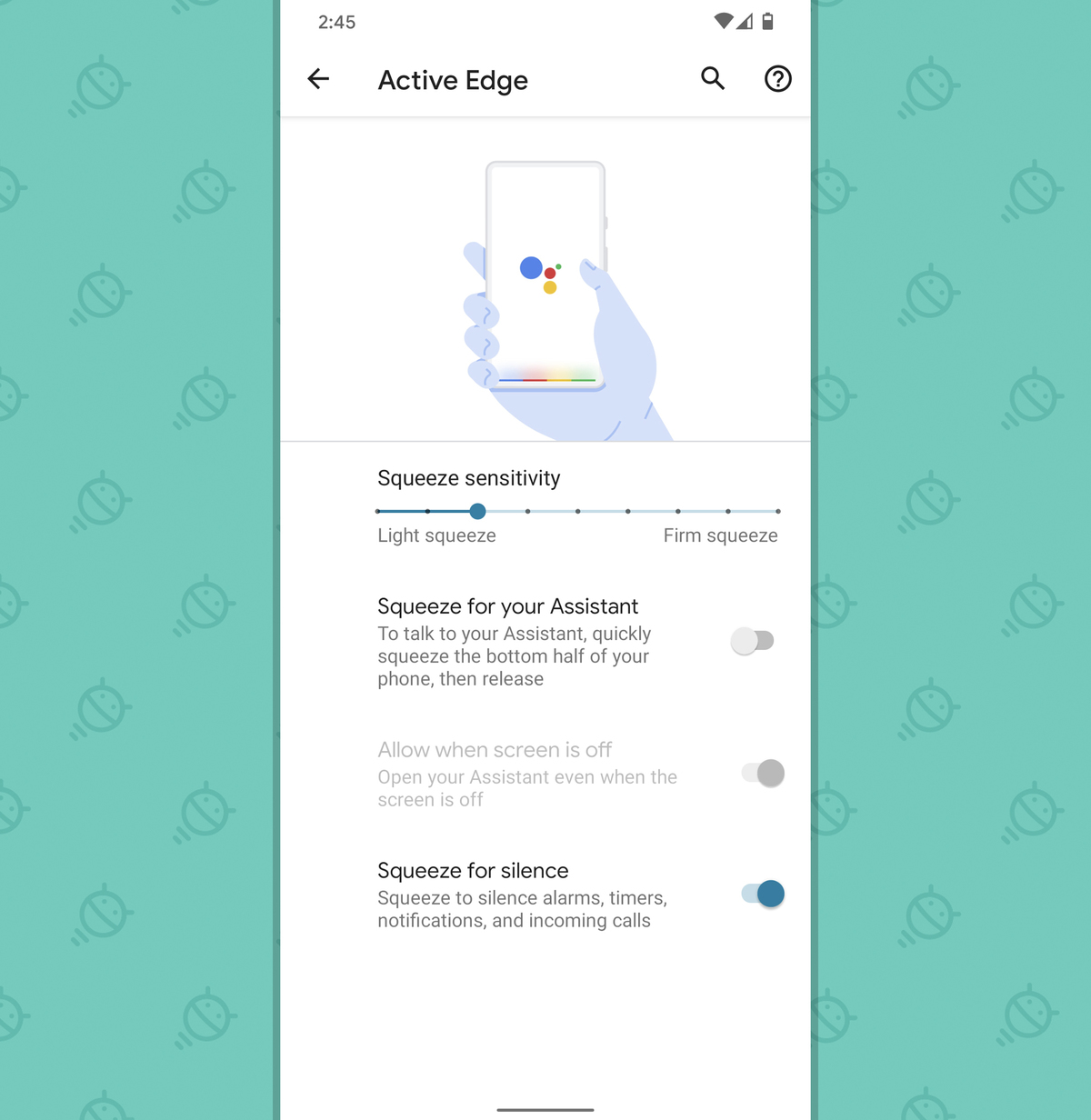 Pixel Features: Squeeze to Silence