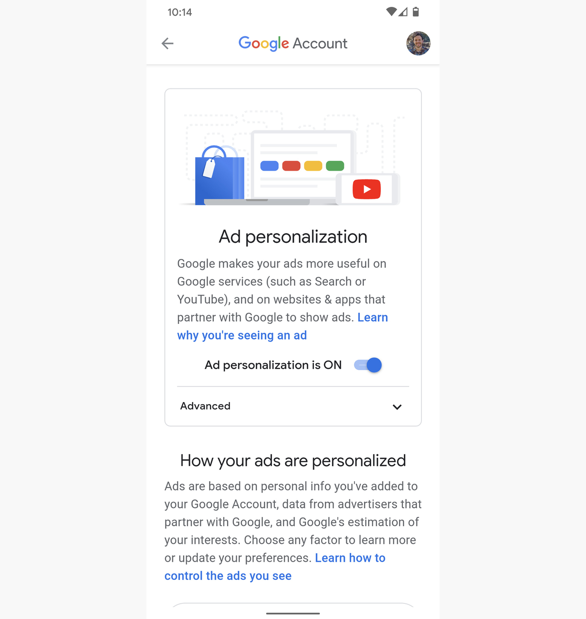 06 android privacy ad personalization