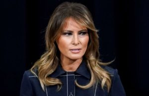 First lady Melania Trump calls for peaceful protests, doesn't mention underlying causes