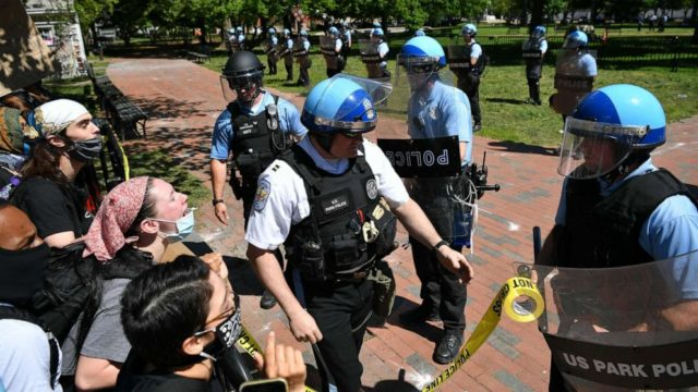 Lawmakers react to crackdown on George Floyd protests