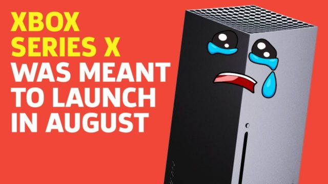 Xbox Series X Could've Been Here In August   Save State