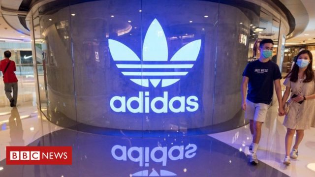 George Floyd: Adidas human resources boss quits amid racism row