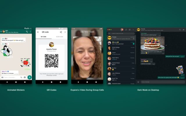 WhatsApp lets you add new contacts with QR codes