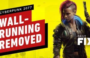 Cyberpunk 2077's Wall-Running Mechanic Has Been Removed