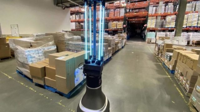 MIT-designed robot can disinfect a warehouse floor in 30 minutes –