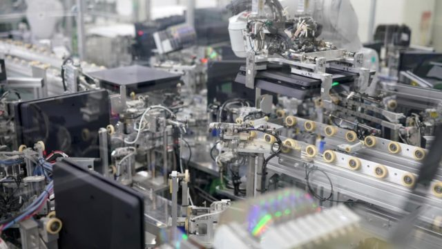 Sony's factory can assemble a PlayStation console every 30 seconds