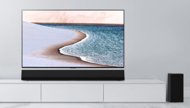 LG's $1300 sound bar is made to match the new GX series OLEDs