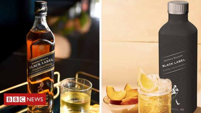 Johnnie Walker whisky to be sold in paper bottles