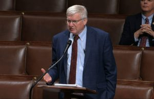 Wisconsin congressman blames coughing fit on dry throat