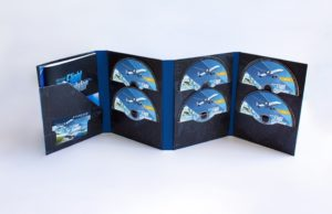 You can buy 'Microsoft Flight Simulator' on 10 DVDs if you want