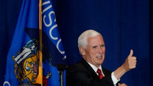 Wisconsin college distances itself from Pence campaign stop