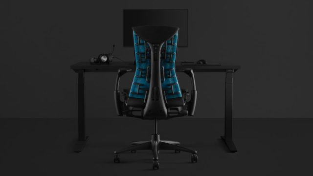 Logitech and Herman Miller's gaming chair will soothe your back and hurt your wallet