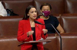Ocasio-Cortez excoriates Republican congressman in fiery floor speech