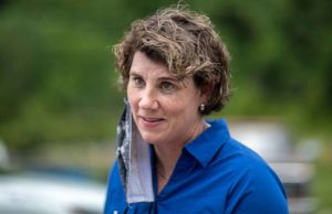 Amy McGrath pitches 'public service' in bid to unseat Mitch McConnell