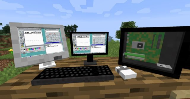 You can now boot a Windows 95 PC inside Minecraft and play Doom on it